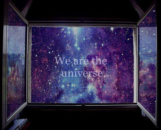 """""""Through our eyes, the universe is perceiving itself. Through our ears, the universe is listening to its harmonies. We are the witnesses through which the universe becomes conscious of its glory, of its magnificence.""""  - Alan Watts"""