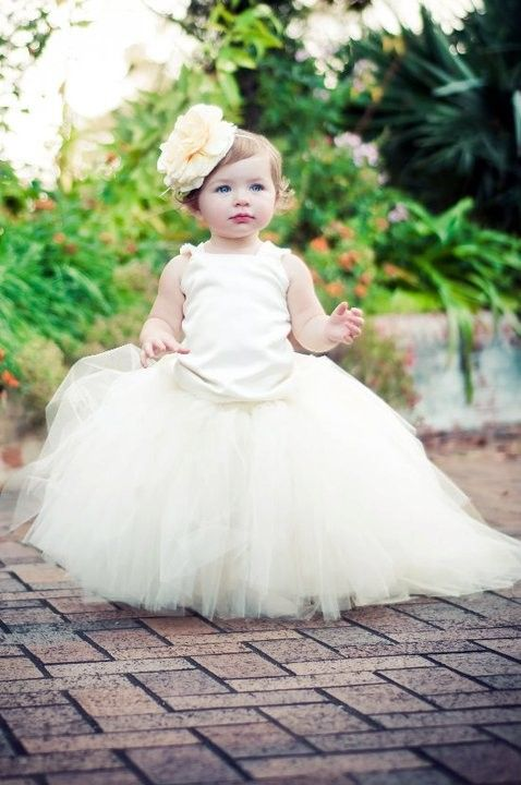 if there is a baby flower girl :)