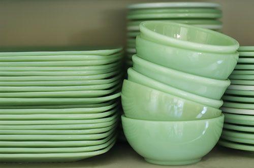 Visit my blog cdiannezweig.blog... and my site iantiqueonline.ni...      I remember doing these!    I never tire of looking at stacks of jadeite