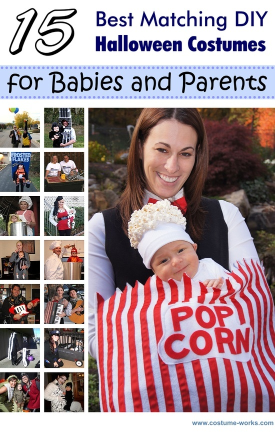 15 Matching DIY Halloween Costumes for Babies & Parents