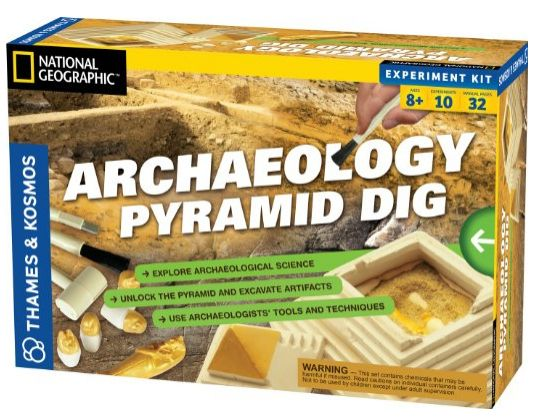 Archaeology Pyramid Dig, $21.37