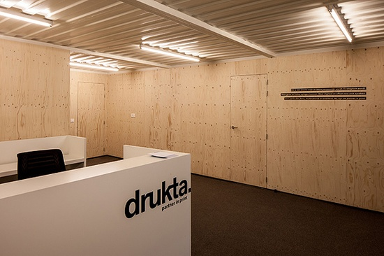 Office Design made with Shipping Containers by Five AM
