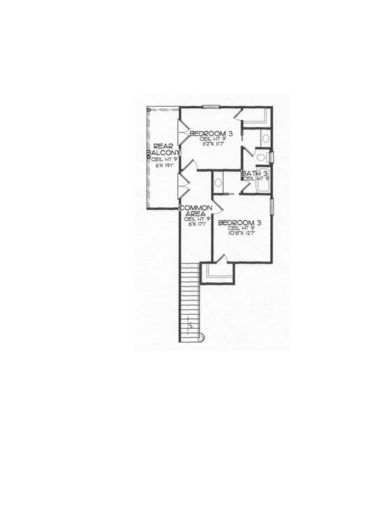 Chateaubriant-Acadiana Home Design- 2nd floor