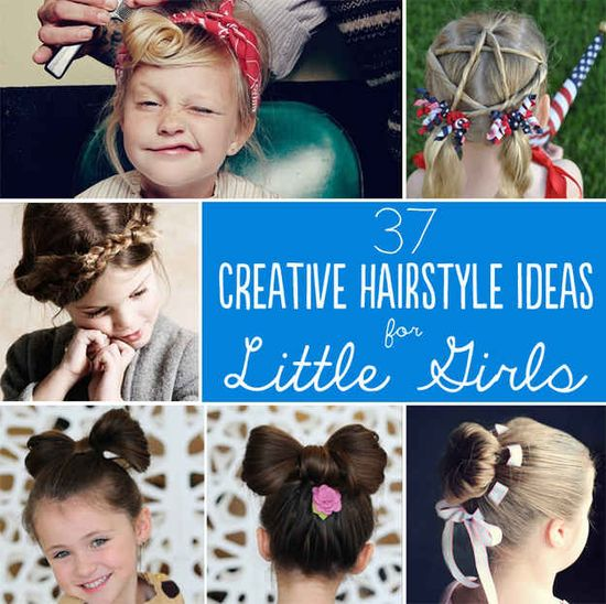37 Creative Hairstyle Ideas For Little Girls - BuzzFeed Mobile