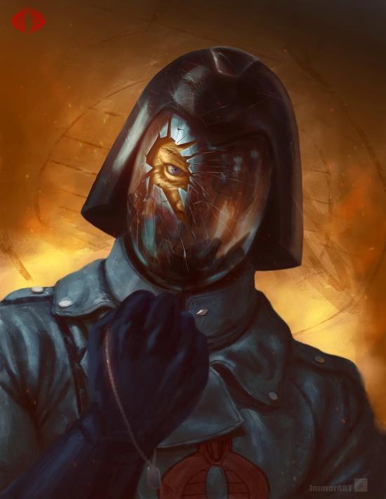 Cobra Commander - 80's Cartoon Villains
