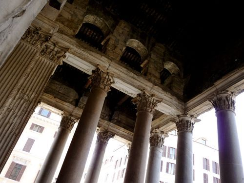 Photos from in and around the Pantheon in Rome  #rome #italy #travel #photos