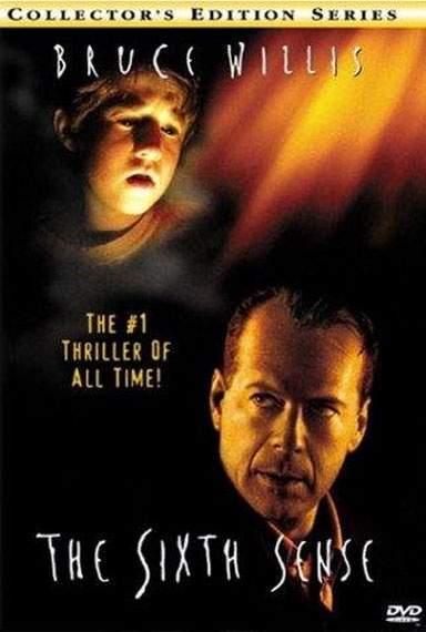 The Sixth Sense Loved this movie and the surprises.