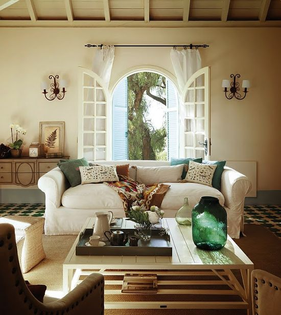 New Home Interior Design: Country House