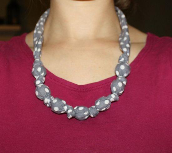 Teething necklace DIY