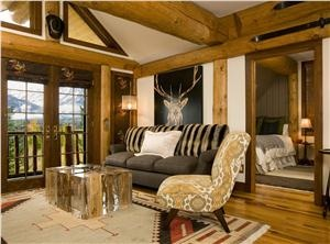 Country/Rustic (Country) Living Room by Jennifer  Visosky