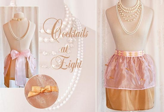 The Hostess Apron Comeback Series: #1 - Cocktails At Eight