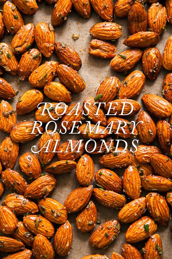 Rosemary Roasted Almonds / blog.jchongstudio...