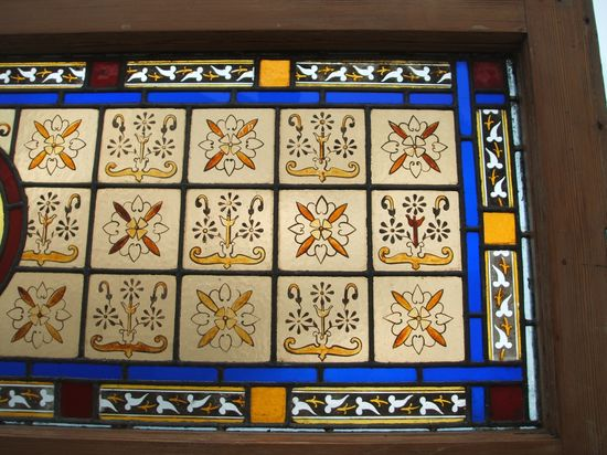 Painted stained glas