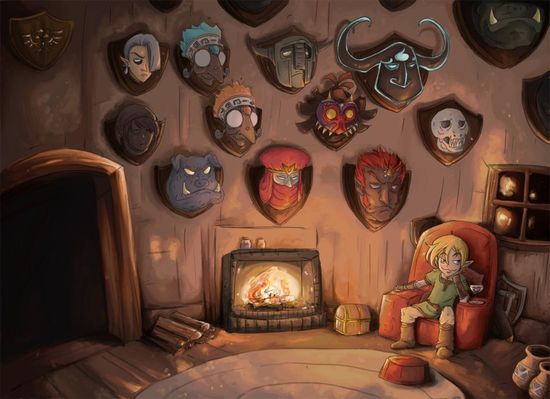 Link's living room