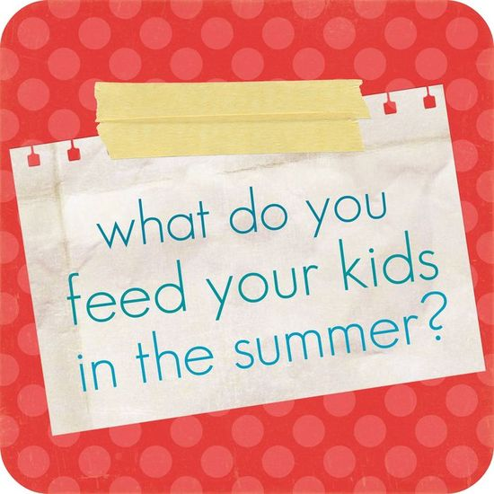 bunch of comments for healthy or quick kid food !