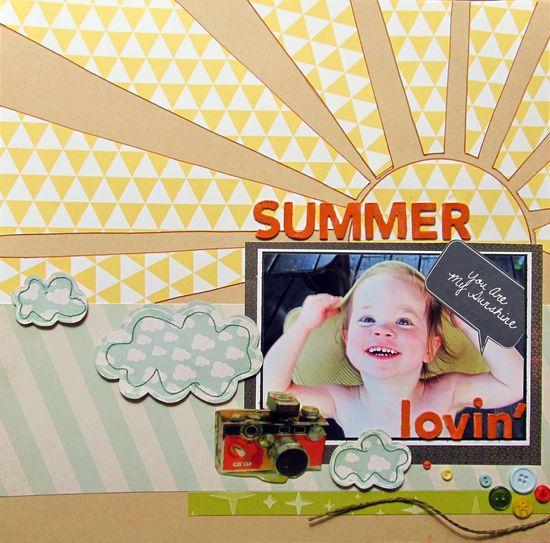 Summer lovin - Scrapbook.com