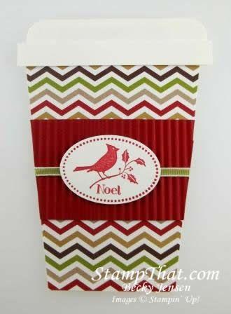 Stampin' Up! Handmade Gift Card holder