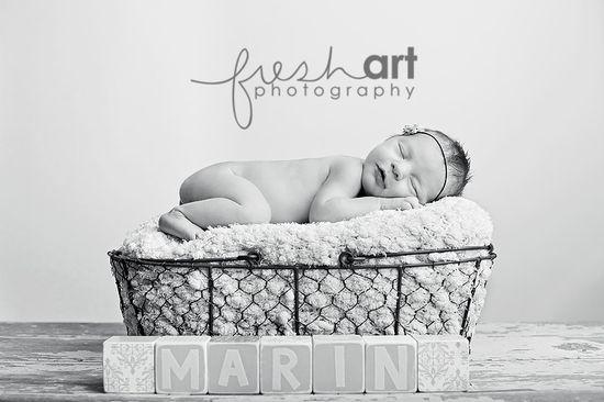 newborn - love the egg basket!