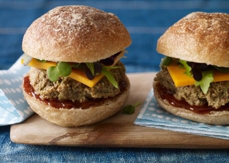 Black Bean and Edamame Sliders from @Vegetarian Times