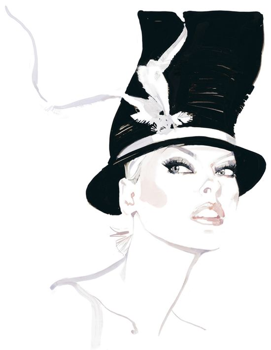 David Downton ~ Linda Evangelista