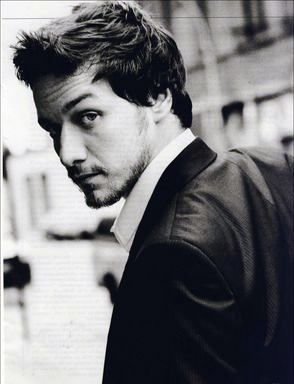James McAvoy. Stop your face, now.