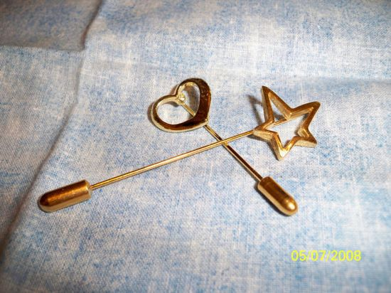 Stick Pins! Super important accessory for your cowl neck sweater!