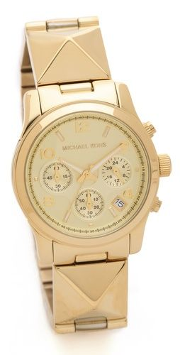 Michael Kors Pyramid Runway Watch