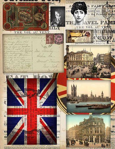 Vintage English Postcards