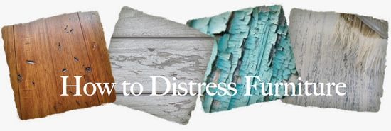 Distressing Furniture: Awesome Tutorial!