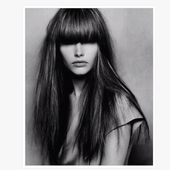 Straight Hair & Bangs [My Style]