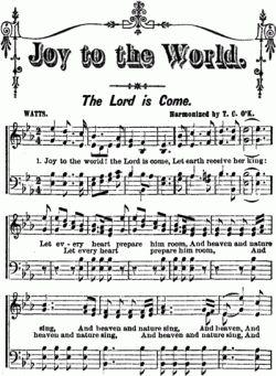My Christmas Decor Styles: joy to the world sheet music (free printable)