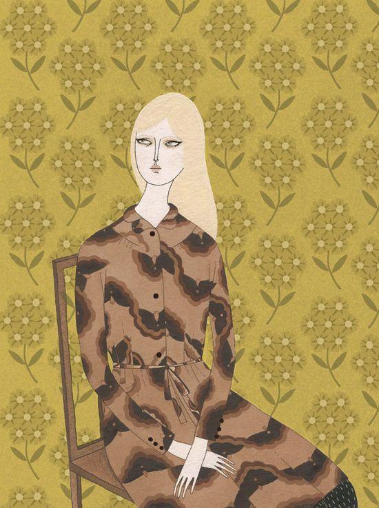 {Orla fashion print} by yelena bryksenkova