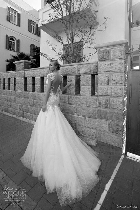 galia lahav 2012 wedding dress stuning back - ito!