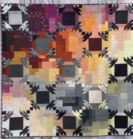 Quilt by Rebecca Loren @parsleyisthenewblack - Photo @onetomatotwo