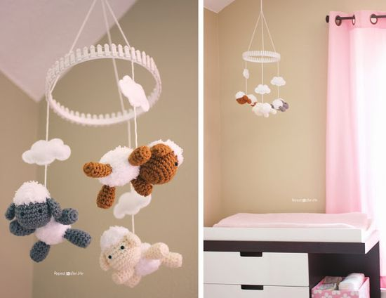 Repeat Crafter Me: Baby Girl Nursery DIY decorating ideas  #SoftSpringCarpet #sponsored