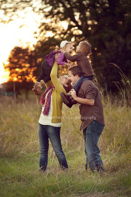 Great family poses