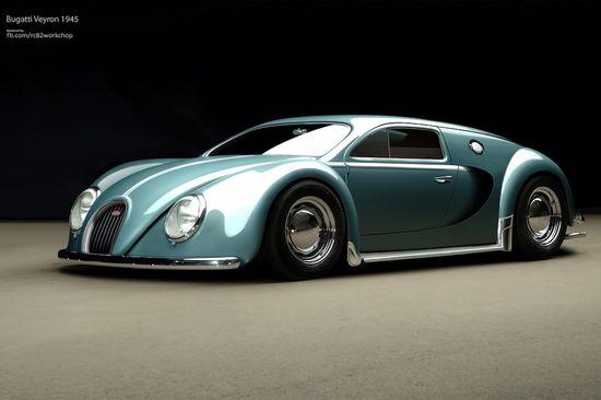 Bugatti Veyron 1945 by rc82 workchop 01
