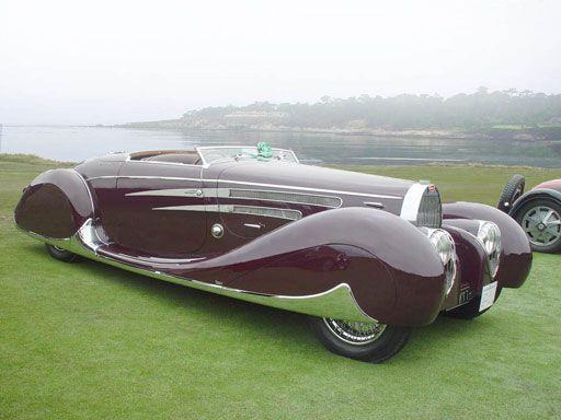 1939 Bugatti Type 57C Van Vooren Cabriolet