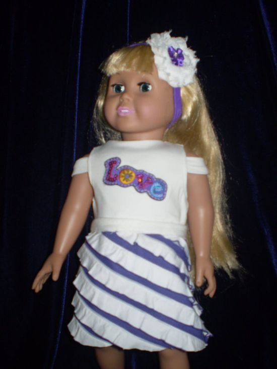 American Girl Doll Clothes by HighlandCottageArts on Etsy, $16.00