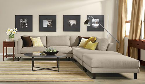 Tilden Lane Family room / Holden Sectionals - Sectionals - Living ...