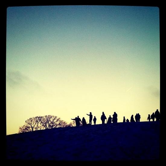 primrose hill xmas day