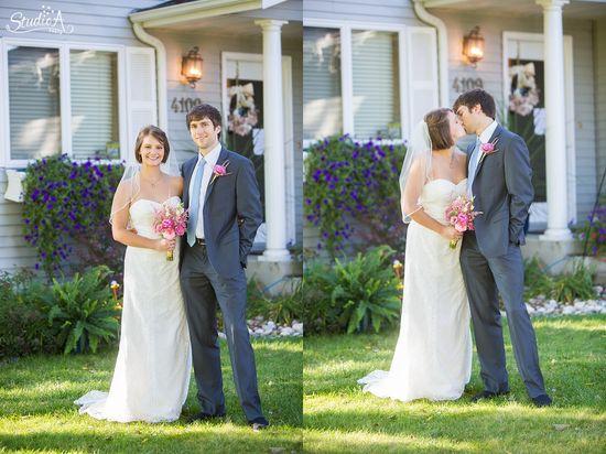 Backyard Wedding Photos