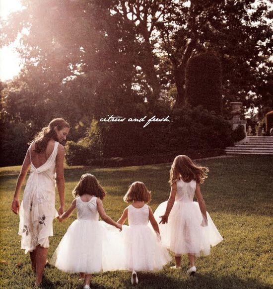 Flower girls...