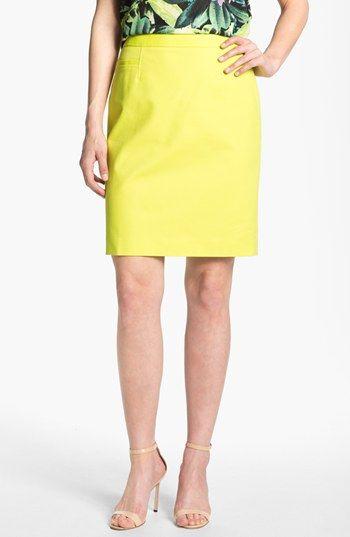 Halogen lime skirt, on sale.