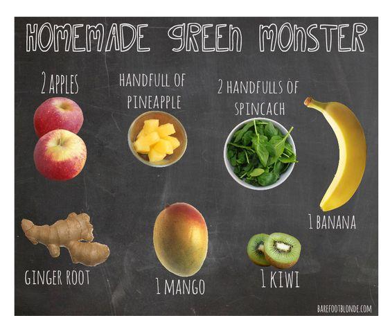 homemade Naked green juice recipe