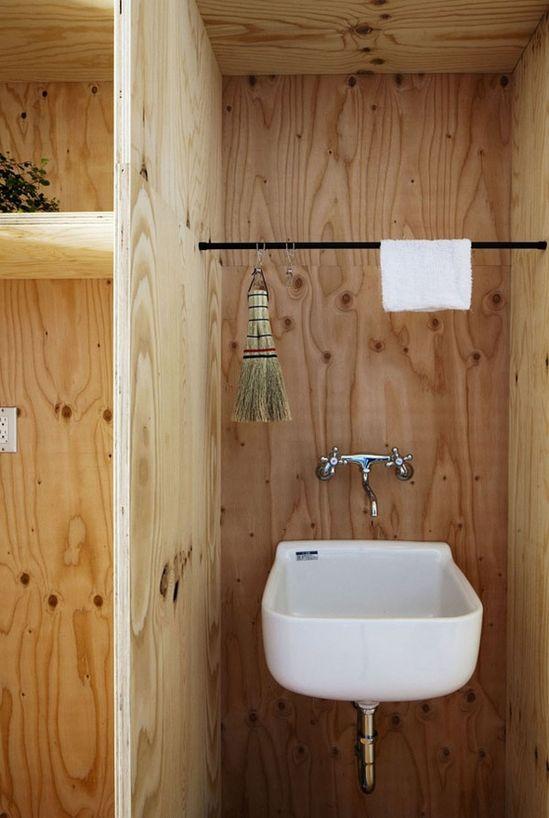Camp-Style Bathroom