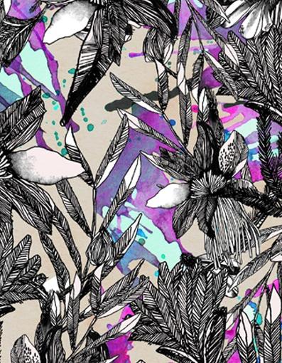 Lital Gold - Textile Design & Illustration - Textile Print*