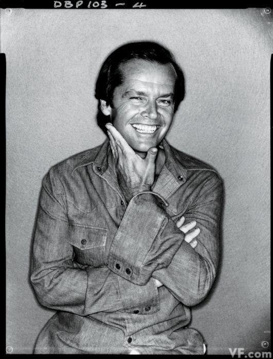 Jack Nicholson by David Bailey, 1978.