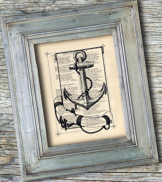 Nautical Vintage Art Print Antique Print by BiloxiHousewife, $10.00