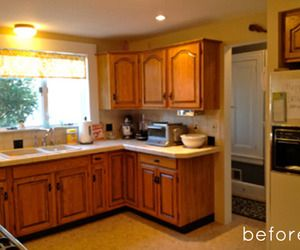 before & after: sunny kitchen makeover